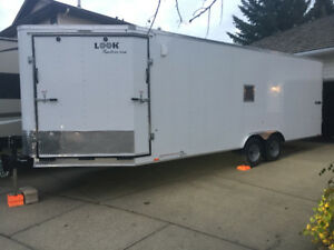 Price Reduced- 2018 - 27' Enclosed Trailer
