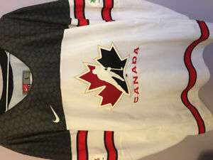 "Team Canada ""150 Year Anniversary"" White Hockey Jersey (Adult)"