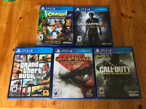 PS4 Games - More than 50% off retail price