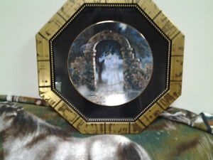 AN ENCHANTED EVENING COLLECTOR PLATE IN FRAME