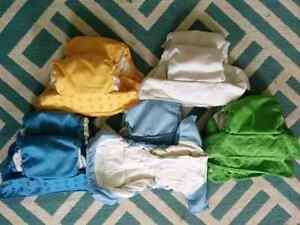 10 Bum Genius Elemental Cloth Diapers