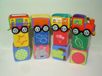Baby Soft Trains and Block Sets