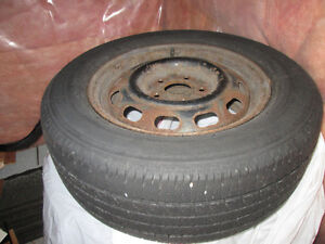 Summer Tires with Rims for Sale P215/60R15