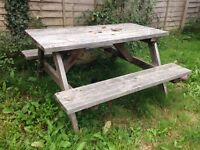 Garden Table / Bench