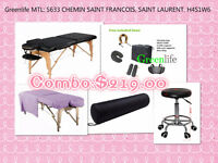 New Combo: Ensemble table de massage