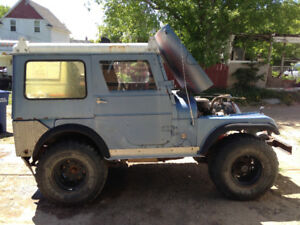 1968 Jeep CJ5 project