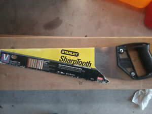"Stanley 15"" hand saw"