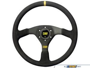 OMP Velocita Steering Wheel (380mm/Black Suede)
