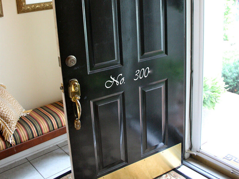 How to Clean Brass Kick Plate on Door - How To Clean Brass Kick Plate On Door EBay