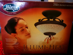 Interior light/heater