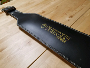 Ceinture Grizzly Fitness