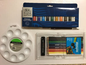 4-in-1 Watercolour set (BRAND NEW)