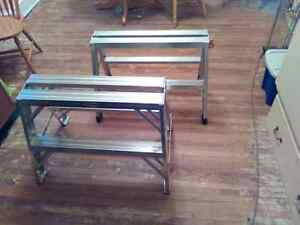 2 Sawhorses. Like New.