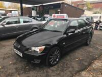 Lexus IS 200 SE 2005 Petrol Automatic 54k Huge Spec Sat Nav B/tooth Leather FSH