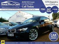 GUARANTEED CAR FINANCE BMW M3 4.0 Coupe Manual DCT Coupe Convertible