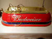 Retro budweiser lamp for bar table or pool table