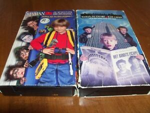 7 films VHS pour enfants