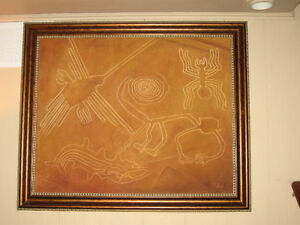 Nasca Lines oil Painting