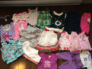 Baby girl clothing size 0-3 mths
