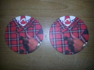 BRAND NEW COLLECTIBLE DON CHERRY ROCKEM SOCKEM GLASS GIFT SET... London Ontario image 3
