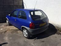Corsa B for sale 3 cylinder need gone asap