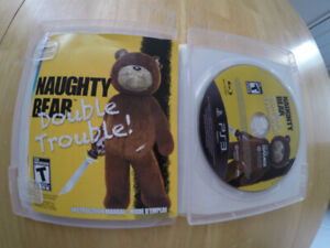PS3 NAUGHTY BEAR DOUBLE TROUBLE