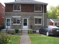 * NEWLY RENOVATED 3 BEDROOM APT on GROUND FLOOR with BACK YARD