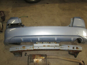 2009 honda fit rear bumper