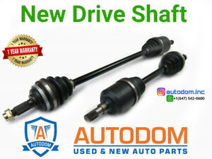 New CV Axle Shaft Assembly Honda Accord 2003-07