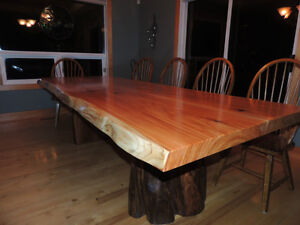 Quality hand made real wood tables lcoally crafted Comox / Courtenay / Cumberland Comox Valley Area image 4