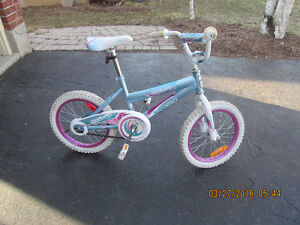 Girls 16 inch bike
