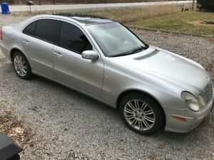 2004 Mercedes-Benz E-500 5.0L AWD