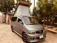 2002 Mazda BONGO POP TOP 4 BERTH SIDE CONVERSION 47 inch bed petrol / LPG 85K