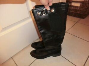 Leather Tall Boots Size 7.5