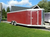 2008 Wells Cargo Utility Trailer 28ft.