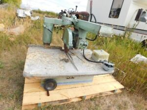 14 INCH INDUSTRIAL RADIAL ARM SAW