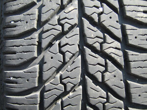 4 winter tires Goodyear ultragrip