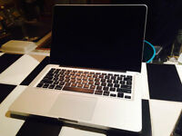 Macbook Pro 13 inch (mid 2012) 2.9GHz dual core i7 processor