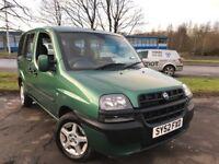 Fiat Doblo 1.9 JTD ELX (green) 2002