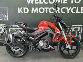 Keeway RKF125 Red 2021 Model Euro 5 Naked Learner Legal