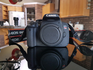 Canon rebel t5i body with Canon camera bag