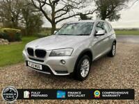2013 BMW X3 2.0 X-DRIVE 20D SE AUTOMATIC 4X4 TURBO DIESEL All Terrain Diesel Aut