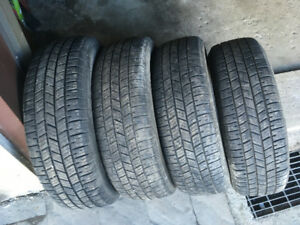 4 PNEUS / 4 ALL SEASON TIRES 205/65/16 UNIROYAL TIGER PAW