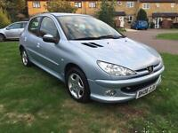 2006 Peugeot 206 1.4 Good Service History,MOT 25/06/2017 , Drives Fine,