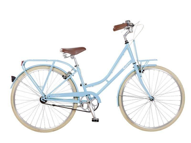 26 pollici GALANO bicicletta da donna fucsia azzurro SINGLESPEED Bambina B-ware