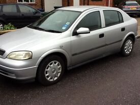 VAUXHALL ASTRA 1.4 MODEL AUTOMATIC 5 DOOR DRIVES GOOD CHEAP RUNNER !!!!ford fiat RENAULT kia seat