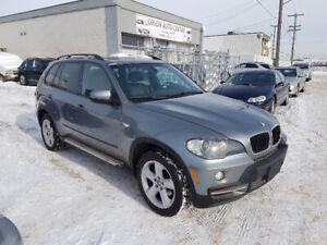 2008 BMW X5 SUV, 3.0 L, AWD, LEATHER, 7 Seater, only 150,322 km.