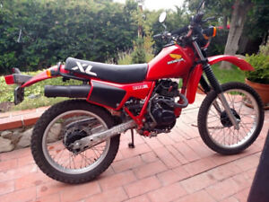Wanted early 80s Honda xl 200