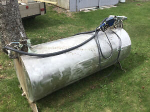 For sale stainless steel fuel tank