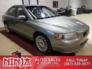 2008 Volvo S60 2.5 T AWD Safetied Leather Sunroof